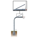 "Picture of Gared Braces and Hardware for 3-1/2"" Gooseneck Basketball Posts"