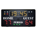 Picture of Gared Alphatec™ 4' Wall Mount Basketball Scoreboard