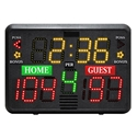 """Picture of Gared Alphatec™ 22"""" x  15"""" Portable Basketball Scoreboard with Backside Controller"""