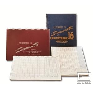 Picture of Gared Peterson's  Baseball Super Scoremaster Scorebook