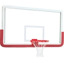 """Picture of Gared® 42"""" x 72"""" Pro OuterLimit Aluminum Uni-Framed Glass Backboard Without Center Strut"""