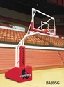 Picture of T-Rex Portable Basketball Systems BA895G T-Rex 66 Side Court