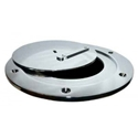 Picture of Bison Chrome Plated Swivel Volleyball Floor Plate
