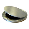 Picture of Bison Hinged Brass Volleyball Floor Plate