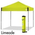 Picture of E-Z UP Pyramid Canopy Shelter 10' X 10' Limeade Top & Grey Steel Frame