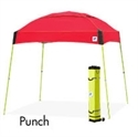 Picture of E-Z UP Dome Canopy Shelter 10' X 10' Punch Top & White Steel Frame