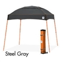 Picture of E-Z UP Dome Canopy Shelter 10' X 10' Grey Top & Orange Steel Frame