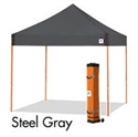 Picture of E-Z UP Vantage Canopy Shelter 10' X 10' Grey Top & Orange Steel Frame