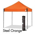 Picture of E-Z UP Vantage Canopy Shelter 10' X 10' Orange Top & Grey Steel Frame