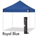 Picture of E-Z UP Vantage Canopy Shelter 10' X 10' Royal Blue Top & White Steel Frame