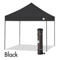 Picture of E-Z UP Vantage Canopy Shelter 10' X 10' Black Top & Grey Steel Frame