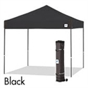 Picture of E-Z UP Pyramid Canopy Shelter 10' X 10' Black Top & Grey Steel Frame