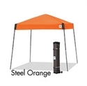 Picture of E-Z UP Vista Canopy Shelter 10' x 10' Orange Top & Steel Grey Frame