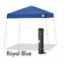 Picture of E-Z UP Vista Canopy Shelter 10' x 10' Royal Blue Top & Steel White Frame