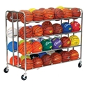 Picture of Champion Sports 48 Ball Double Wide Ball Cart