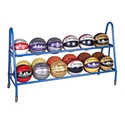 Picture of Champion Sports 18 Ball Deluxe Heavy Duty Cart
