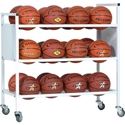 Picture of Champion Sports 24 Ball Double Wide Ball Cart