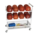 Picture of Champion Sports 16 Ball Double Wide Ball Cart