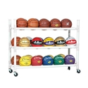 Picture of Champion Sports 30 Basketball Heavy Duty Cart