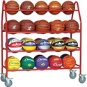 Picture of Champion Sports Deluxe Pro Ball Cart