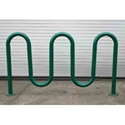Picture of Tubular Solutions Inc Powder Coat Wave Bike Rack