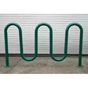 Picture of Tubular Solutions Inc Powder Coat Wave Bike Rack