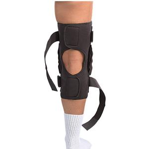 Pro Level Hinged Knee Brace Deluxe Mueller Sports