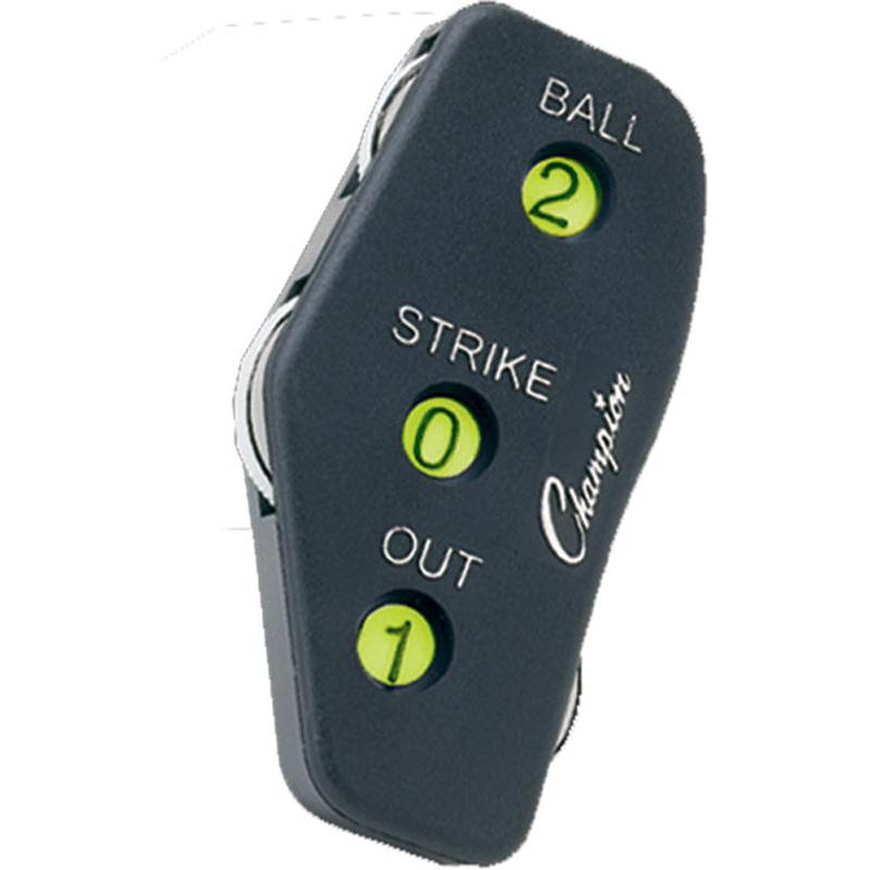 Champion Sports 3 Wheel Oversize Umpire Indicator Sports