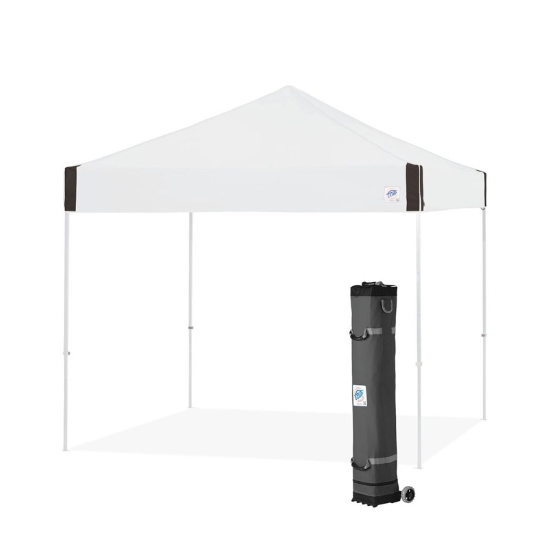 E-Z UP Pyramid Canopy Shelter 10\' X 10\'. Sports Facilities Group Inc.