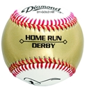Picture of Diamond Sports Gold Home Run Derby Baseball