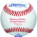 Picture of Diamond Sports Official Ball of the AABC Premium Full Grain Leather Baseball