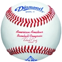 Picture of Diamond Sports Official Ball of the AABC Cork & Rubber Core Baseball