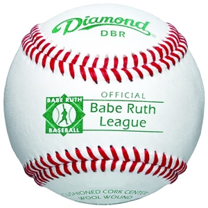 Picture of Diamond Sports Babe Ruth Tournament Grade Baseball Premium Leather