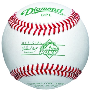 Picture of Diamond Sports Pony League™ Tournament Grade Premium Full-Grain Leather Baseball