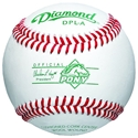 Picture of Diamond Sports Pony League™ Tournament Grade Full-Grain Leather Baseball