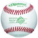 Picture of Diamond Sports Pony League™ Tournament Grade Full-Grain Leather Baseball
