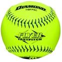"Picture of Diamond Sports Softball USSSA FastPitch 11"" Blue Stitch"