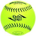 "Picture of Diamond Sports NSA SlowPitch 12"" Softball - Composite, Black Stitch"