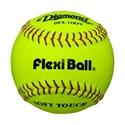 "Picture of Diamond Sports Flexiball® 12"" Softball - Leather"