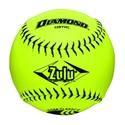 "Picture of Diamond Sports USSSA SlowPitch 12"" Softball - Composite Blue Stitch"