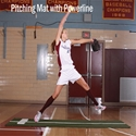 Picture of BSN ProMounds Jennie Finch Pitching Mat with Powerline