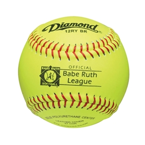"Picture of Diamond Sports Babe Ruth 12"" FastPitch Softball -  Leather"