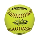 "Picture of Diamond Sports Softball NFHS Collegiate Red Stitch 12"" Fast Pitch - Cork Core"