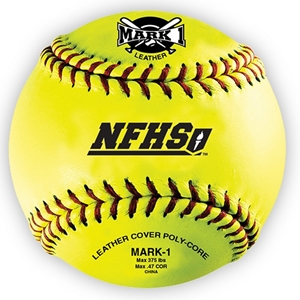 """Picture of BSN Mark 1™12"""" NFHS  Fast Pitch Softballs (12-Pack)"""