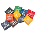 """Picture of Champion Sports 5"""" Numbered Bean Bag Set"""
