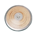 Picture of Champion Sports Wood Practice Discus 1 Kilo