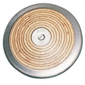 Picture of Champion Sports Wood Practice Discus 2 Kilo