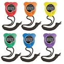 Picture of Champion Sports Stop Watch Six Color Set
