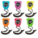Picture of Champion Sports Neon Six Color Stop Watch Set