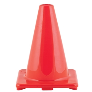 "Picture of Champion Sports Hi Visibility Flexible 6"" Vinyl Cone Orange"